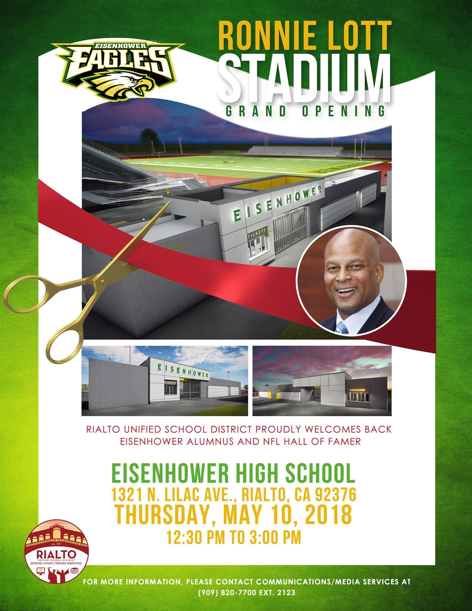Ronnie Lott Stadium grand opening