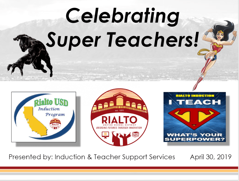 Celebrating Super Teachers