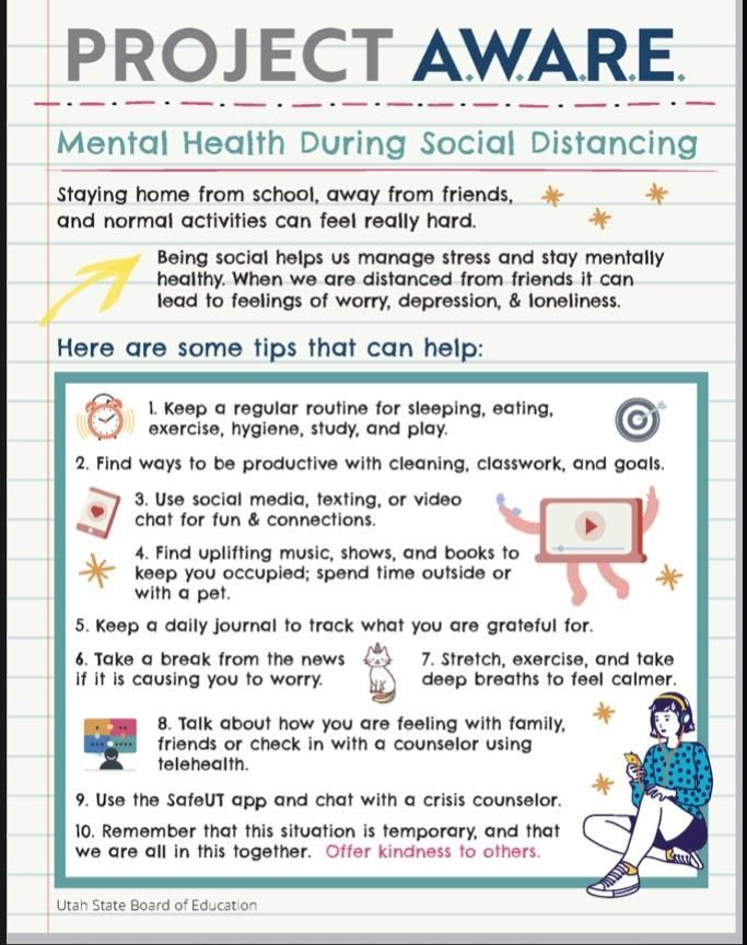 Mental Health During Social Distancing