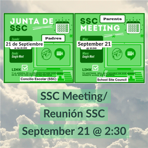 SSC Meeting