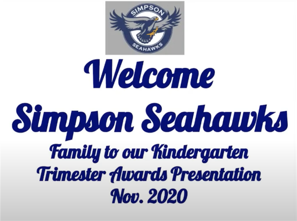 Kinder 1st trimester award video