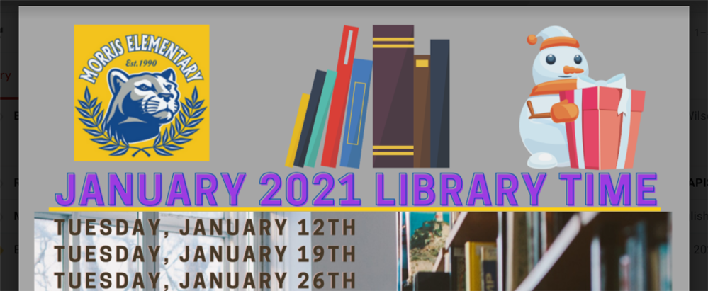 January 2021 Library Time