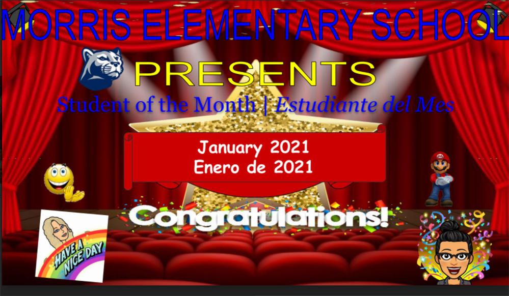 Student of the Month Celebration