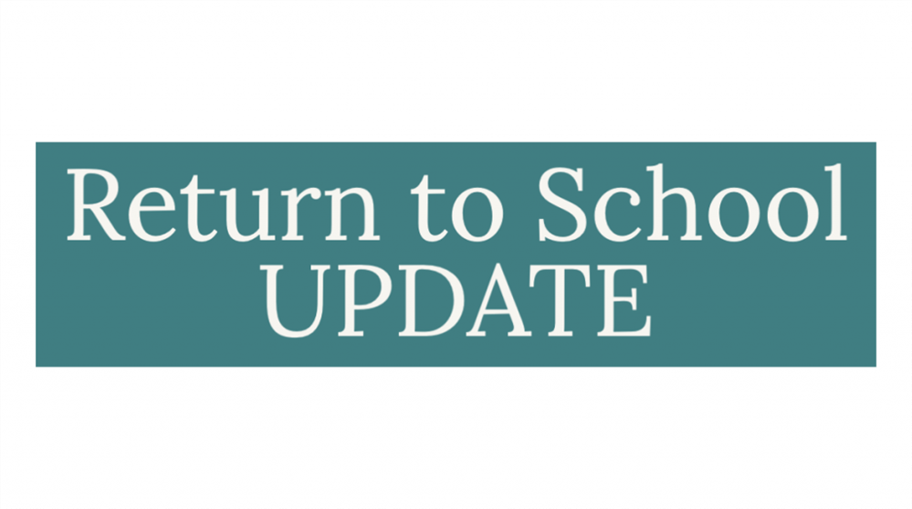 Lastest on School Reopening Information