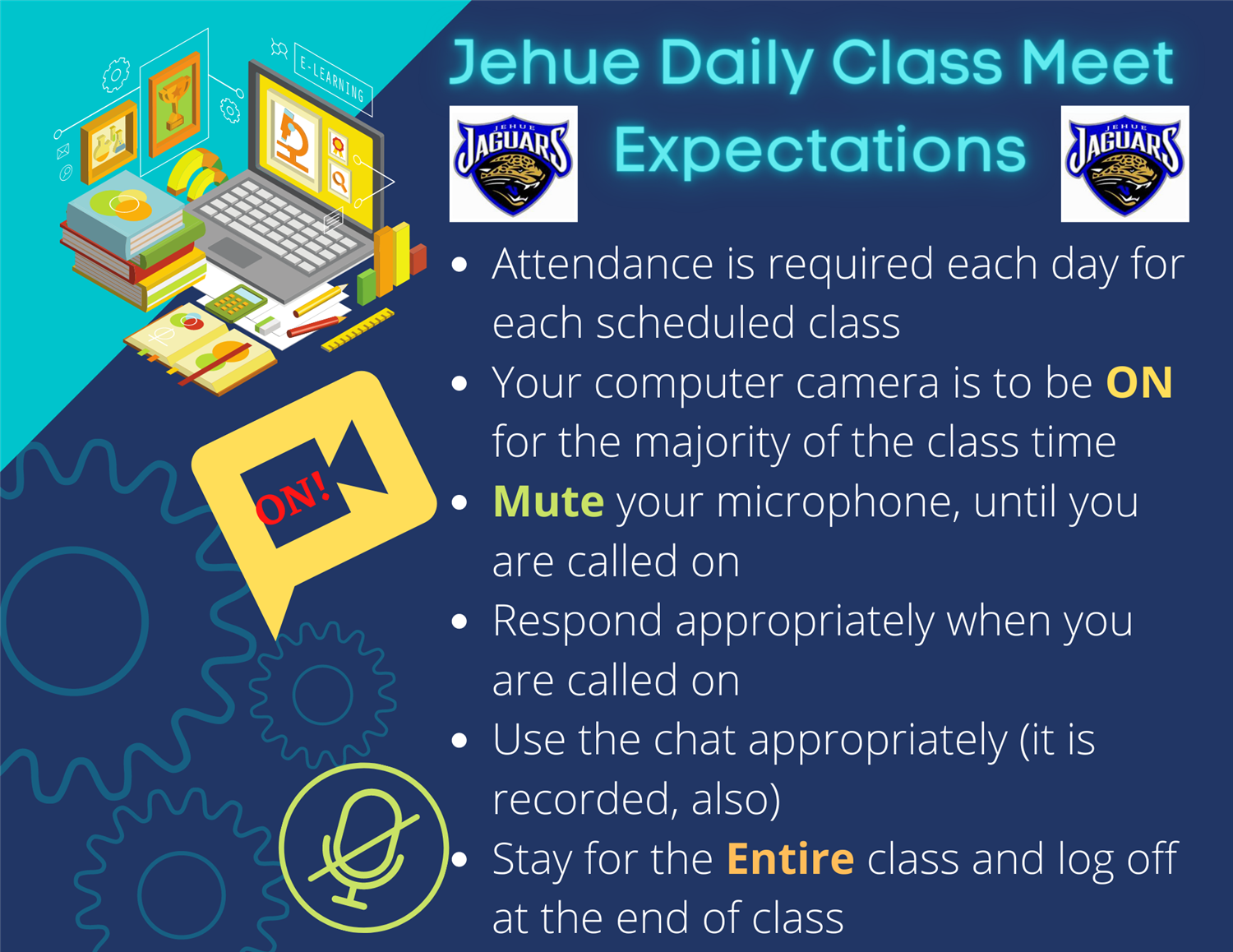Jehue Daily Class Meet Expectations