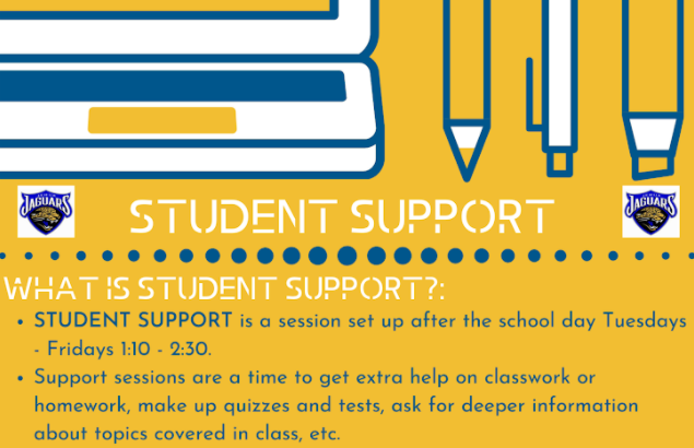 Student Support Available