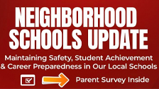 Neighborhood Schools Update
